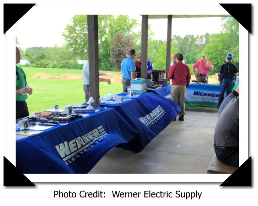 Photo Credit:  Werner Electric Supply